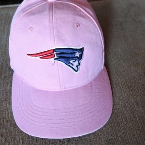PINK PATRIOTS FOOTBALL HAT